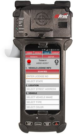 parking ticket equipment