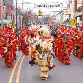 Winter Festival Parade